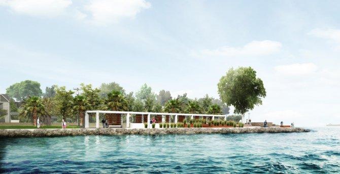 Narlıdere-Sahilevleri kıyı bandı peyzajı yenilenecek