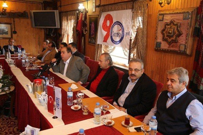 Başkan Karaküçük Gazeteciler İle Bir Araya Geldi