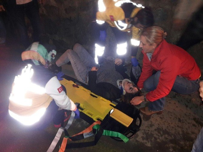 Marmaris'te Trafik Kazaları; 2 Yaralı