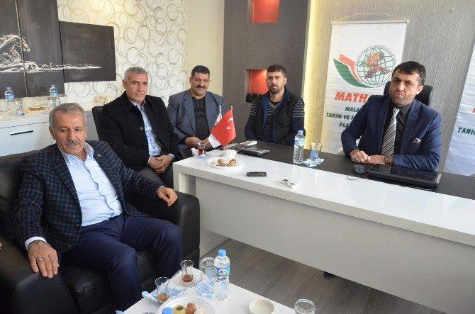 Milletvekili Şahin'den Mathap'a Ziyaret