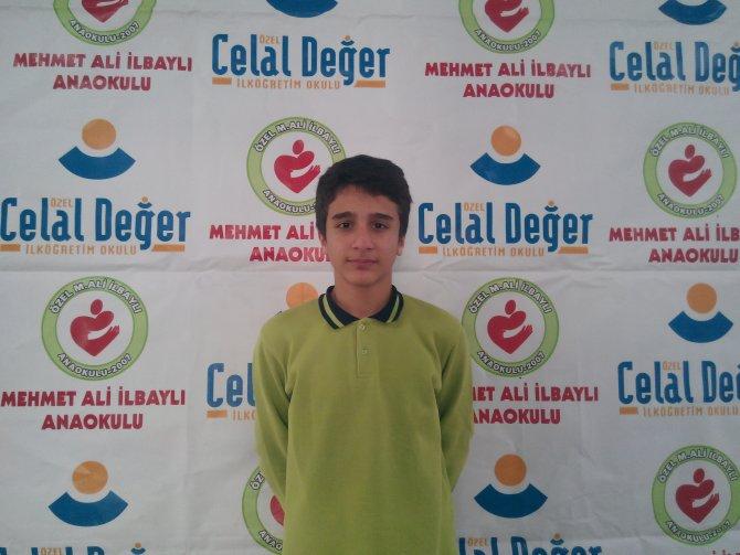 TEOG Türkiye Şampiyonu Siirt Özel Celal Değer'den