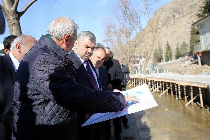 Başkan Çelik Sarız'da Başladığı Yatırım Toplantılarını Yahyalı'da Bitirdi