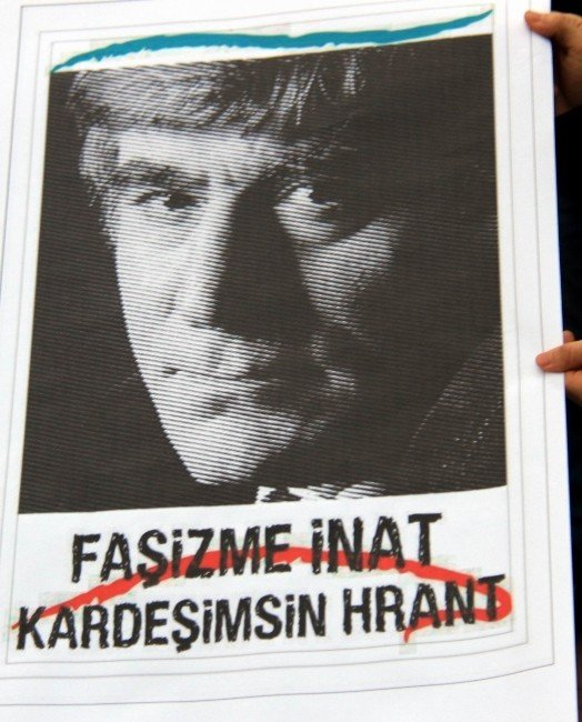Samsun'da Hrant Dink Eylemi