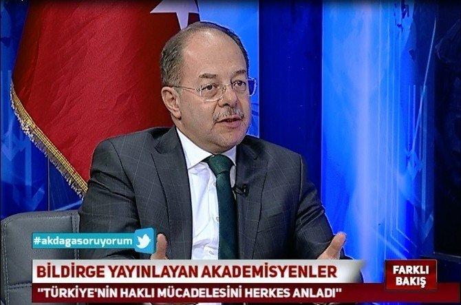 AK Parti Genel Başkan Yardımcısı Recep Akdağ: