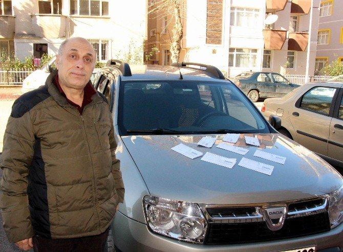 Emekli Trafik Polisine, Tedes'ten 2 Bin Lira Ceza
