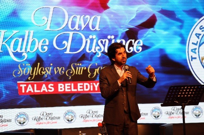 Talas'ta 'Dava Kalbe Düşünce' Gecesi