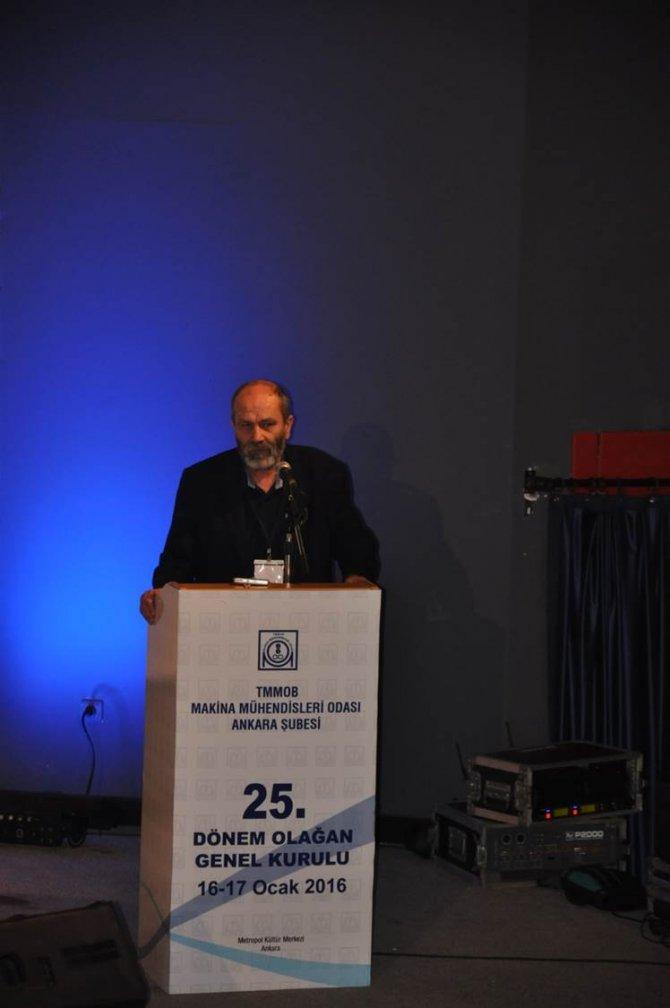 TMMOB, Ankara Şube 25. Olağan Genel Kurulu başladı
