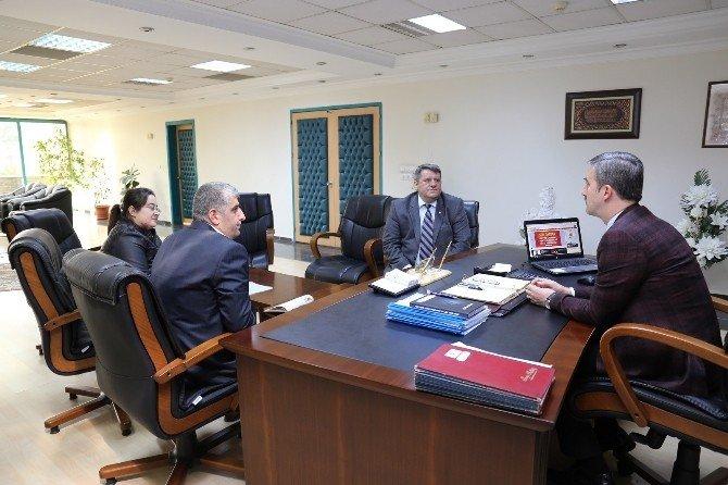 Başkan Şirin Ve Aksoy'dan Mabem Kayıtları Müjdesi
