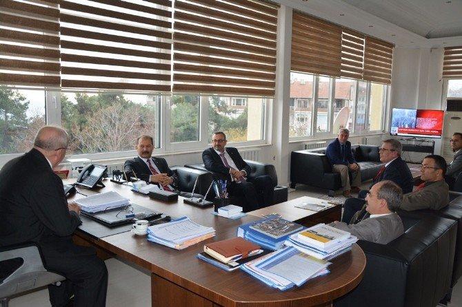 Eğitim İş Sendikası Genel Başkanı Demir'den Başkan Albayrak'a Ziyaret
