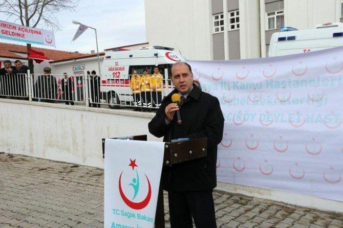 Gümüşhacıköy Devlet Hastanesi Acil Servisinin Açılışı Yapıldı