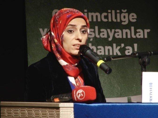 """""""Erzurum Kadın Ve Genç Girişimcilik Platformu"""" Halkbank'ın Desteğiyle Düzenlendi"""