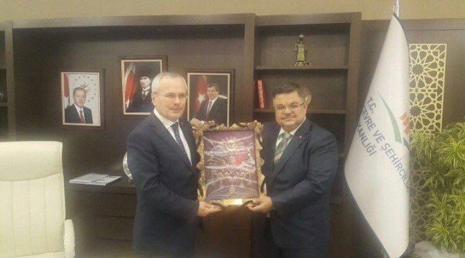 Başkan Yağcı'nın Ankara Temasları