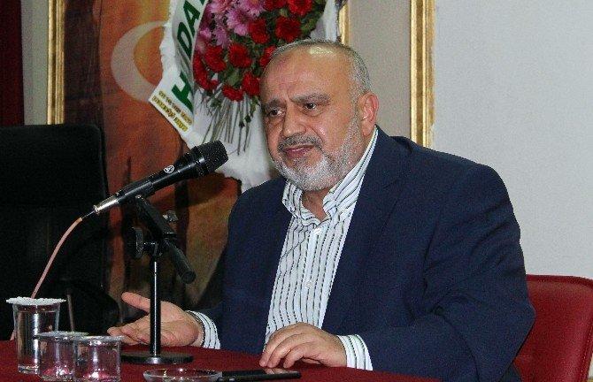 Eski Milletvekili Şevki Yılmaz Tekirdağ'da Konferans Verdi