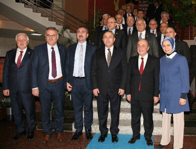 Dışişleri Bakanı Çavuşoğlu, Gaziantep Üniversitesi'ne Hayran Kaldı