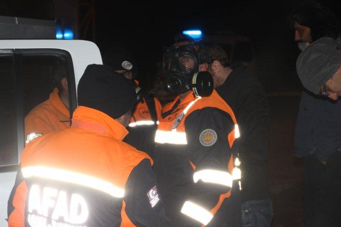 AFAD: (Çankırı'daki sızıntı) Bizim cihazlarımız gazın kaynağını bulamadı