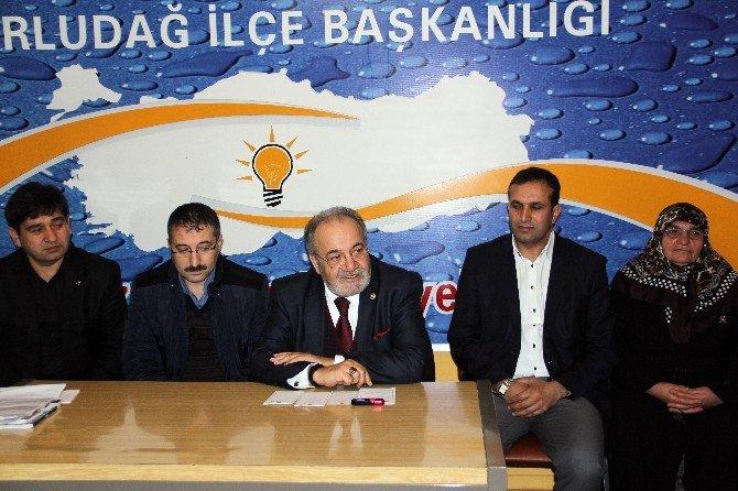 AK Parti Bayat Ve Uğurludağ Danışma Meclisi Yapıldı