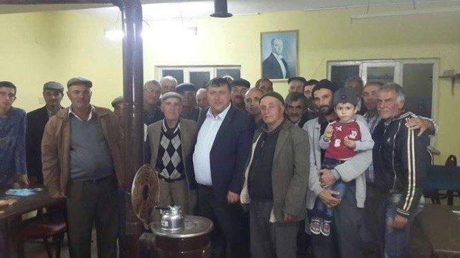 Beylikova Belediyesi İlçe Halkının Şikayet Ve Dileklerini Dinliyor
