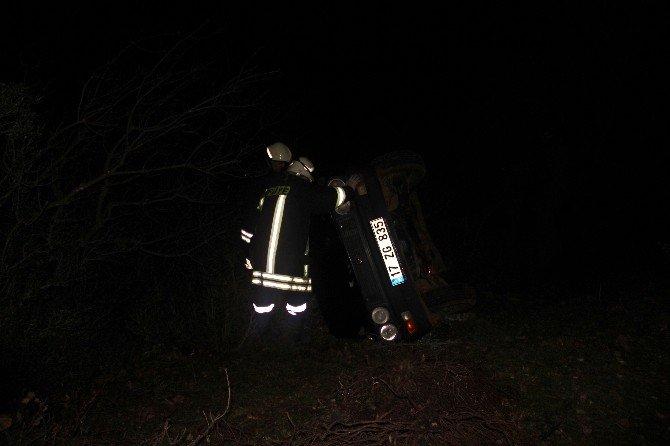 Çan'da Trafik Kazası : 2 Yaralı