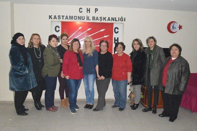 CHP Kastamonu Kadın Kolları Görev Dağılımı Yaptı