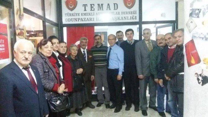 Esküder'den Eskişehir Emekli Astsubaylar Derneği'ne Ziyaret