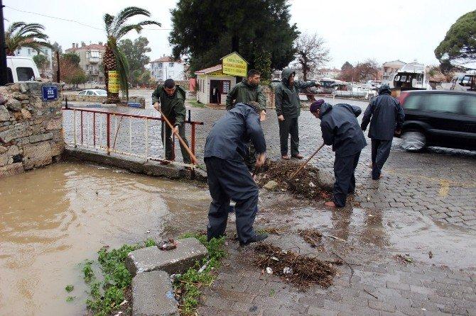 Foça'da Su Baskınları