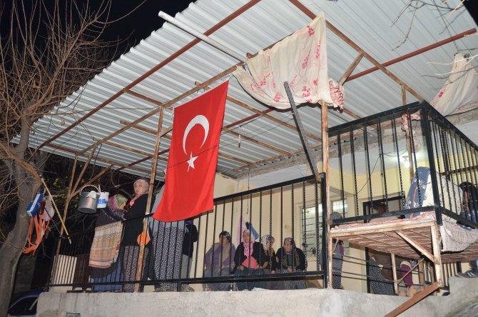 Şehidin Adana'daki baba ocağına acı haber ulaştı