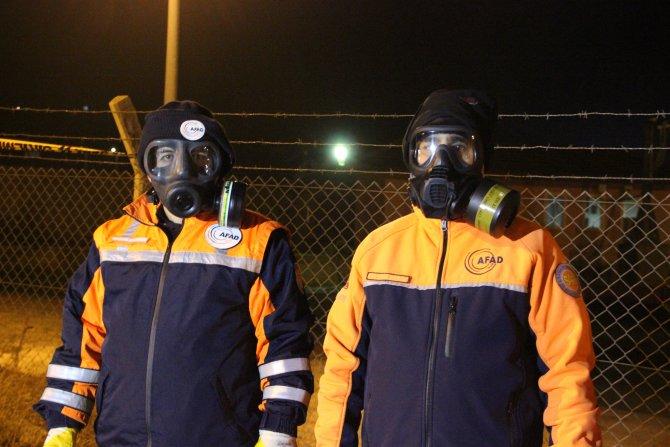 Çankırı İl Sağlık Müdürlüğü: Kimyasal gazdan 212 kişi etkilendi