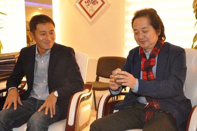 Japon İş Adamları Beyaz Çayı Sevdi