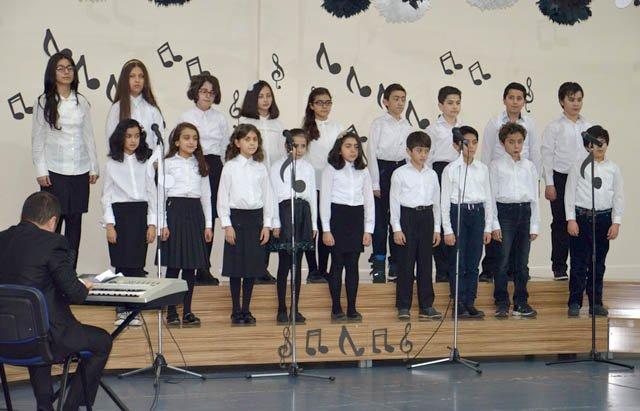 Öğrenciler müzikte yarıştı