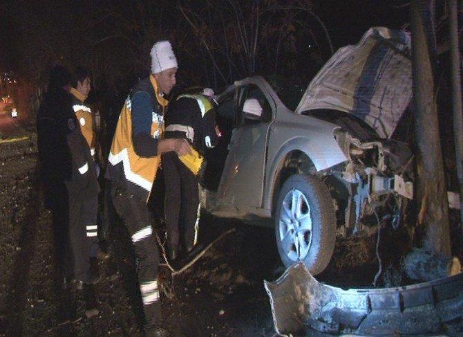 Kayseri'de Trafik Kazası: 1 Ölü, 3 Yaralı