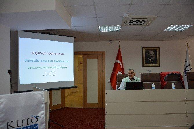 Kuşadası Ticaret Odası'nda Stratejik Plan Hazırlık Çalıştayı Yapıldı