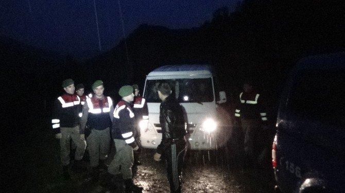 Kazdağları'nda Mahsur Kalan 23 Kişi AFAD Ve Jandarma Tarafından Kurtarıldı