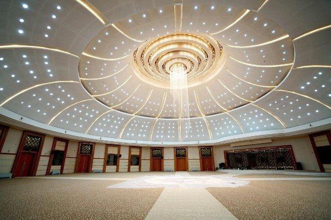 Başkan Çakır, Yeni Nikah Sarayında İnceleme Yaptı