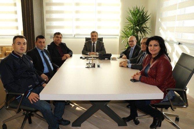 Trabzonlular Derneği'nden Memiş'e Ziyaret