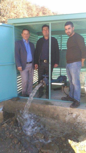 Battalmustafa'da İçme Suyu Sevinci