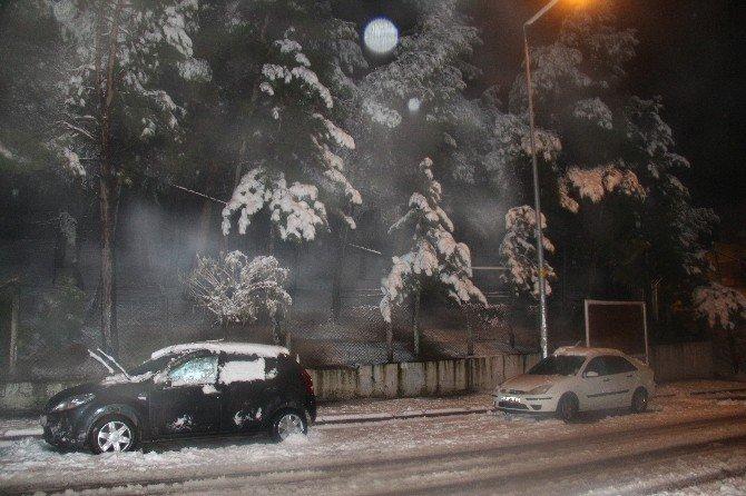 Demirci'de Öğrencilere 1 Gün Kar Tatili