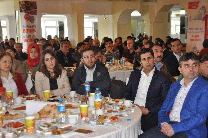 Muğla Eğitim-bir-sen Üyeleri Fethiye'de Bir Araya Geldi