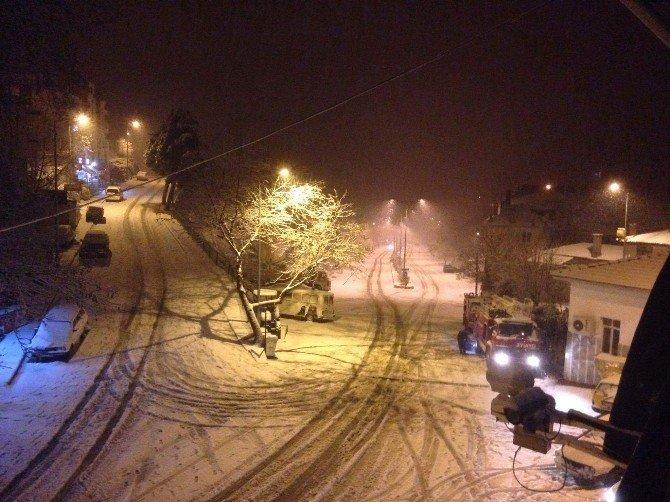 Muğla'da Eğitime Kar Engeli