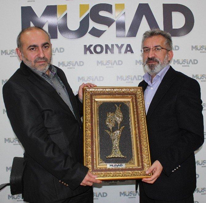 """MÜSİAD'ta """"Ortadoğu'da Dengeler Ve Denklemler"""" Konuşuldu"""