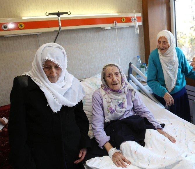 86'lık Üçüz Nineleri Hastalıkta Ayıramadı