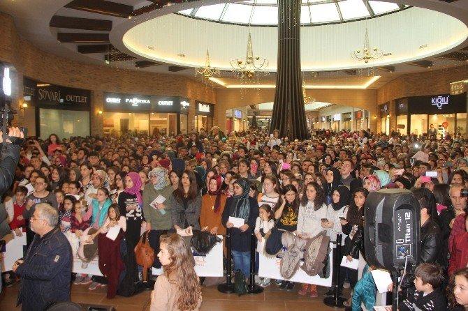 Bolu'da Mustafa Ceceli İzdihamı