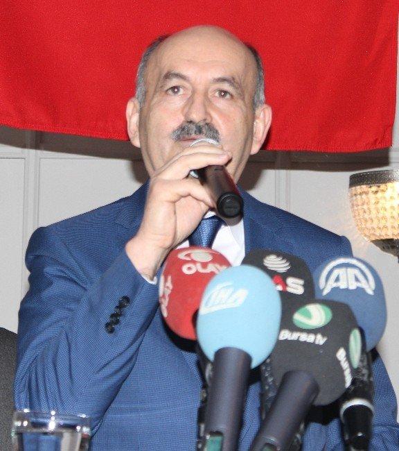 """Müezzinoğlu: """"Teröristleri Kazdıkları Çukurlara Biz Gömeceğiz Bu Millet Gömecek"""""""