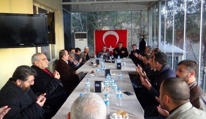Siirt'te Şehit Polis Yalçın Yamaner İçin Taziye Kuruldu