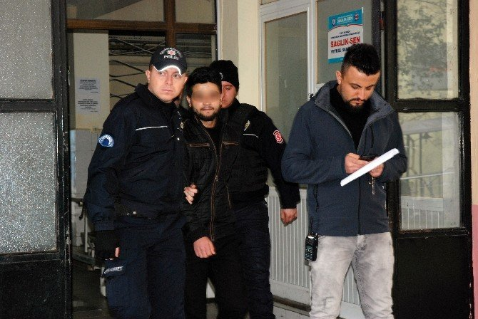 IŞİD Operasyonu Zanlıları Sağlık Kontrolünden Geçirildi