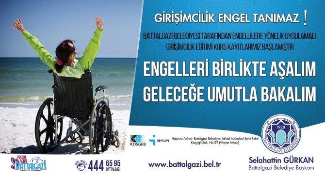 50 Engelliye Uygulamalı Girişimcilik Eğitimi Verilecek