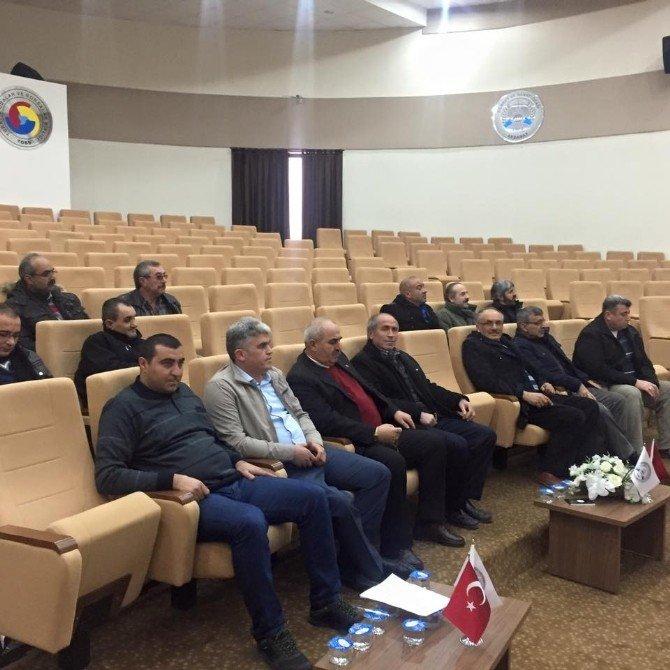 Aksaray Amatör Spor Kulüpleri Kongresini Yaptı