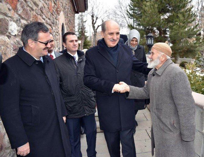 Başbakan Yardımcısı Numan Kurtulmuş Kızılcahamam'da Ziyaretlerde Bulundu
