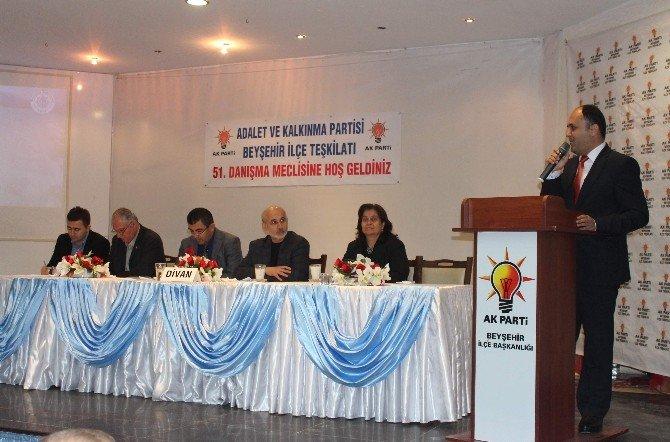 Beyşehir'de AK Parti 51. Danışma Meclisi Toplantısı