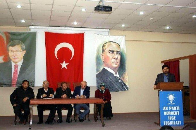 Derbent'te AK Parti 51. Danışma Meclisi Toplantısı
