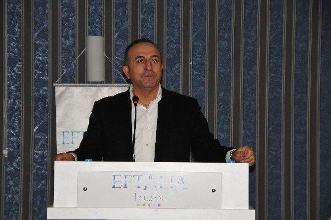 """Çavuşoğlu, Alanya'da """"Sektörel Değerlendirme Ve İstişare"""" Toplantısına Katıldı"""